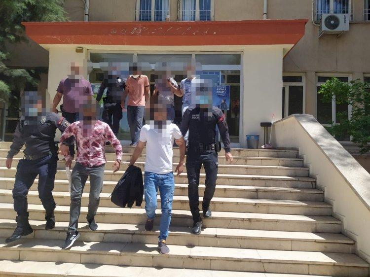 Hırsızlık şüphelileri tutuklandı
