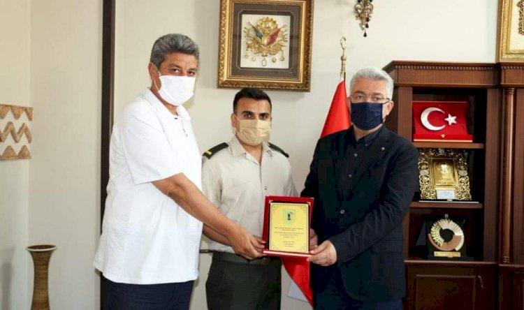 Nizip Askerlik Şubesi Başkanı Asteğmen Çetin'den NTO'ya Teşekkür