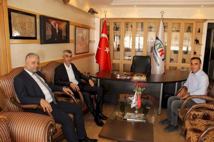 Emniyet Müdürü Yaman'dan NRT'ye veda ziyareti