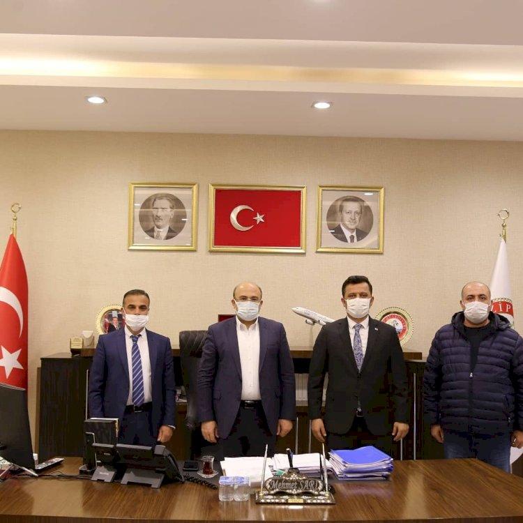 Basın İlan Kurumu Müdürü Haşim Poyraz'dan Ziyaretler