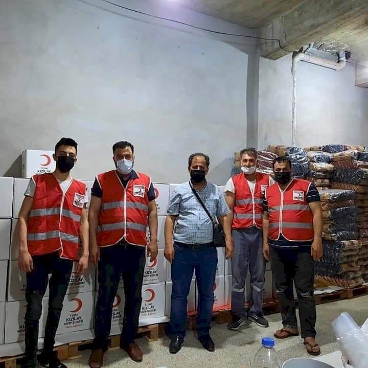 Nizip Kızılay'dan Ramazan Yardımı