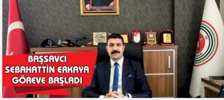 Nizip Cumhuriyet Başsavcısı Erkaya, göreve başladı