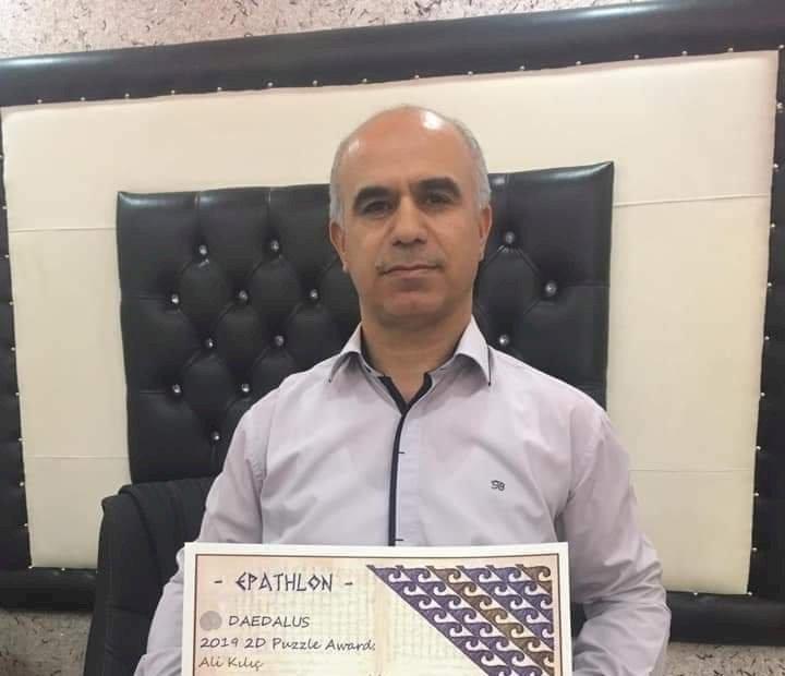 Nizip li öğretmen Ali Kılıç, Türkiye Zeka Şampiyonu